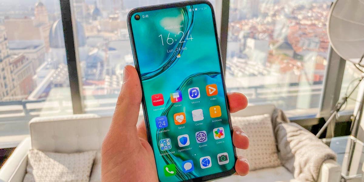 Huawei P40 Lite diseño