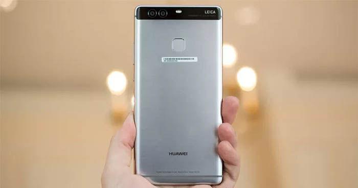 Huawei P9 parte trasera