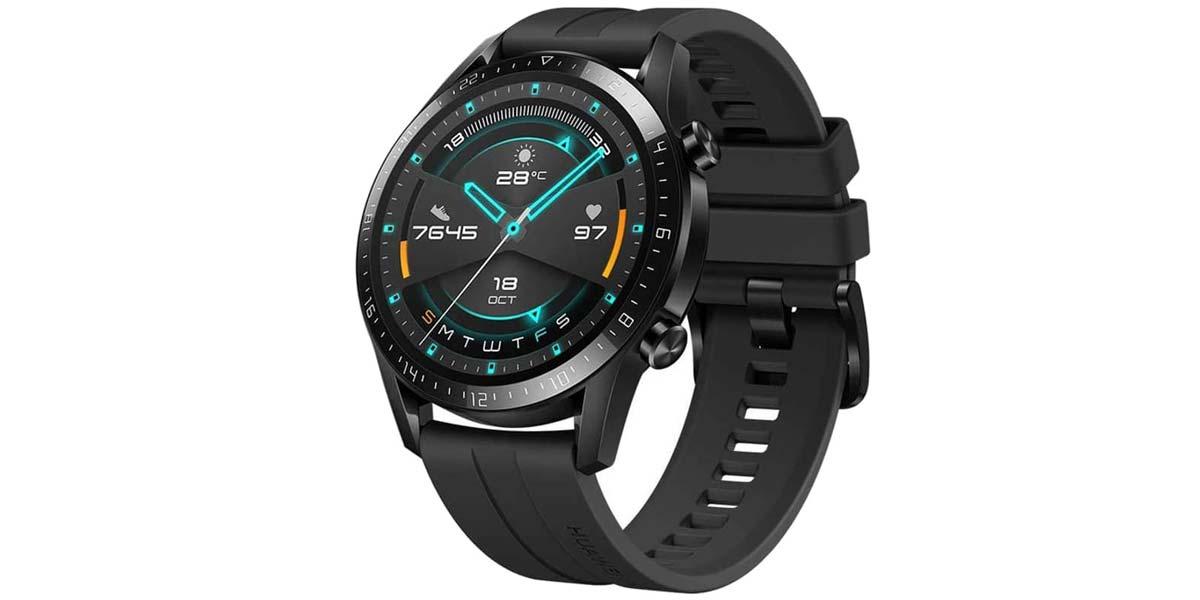 Smartwatch Huawei Watch GT de color negro