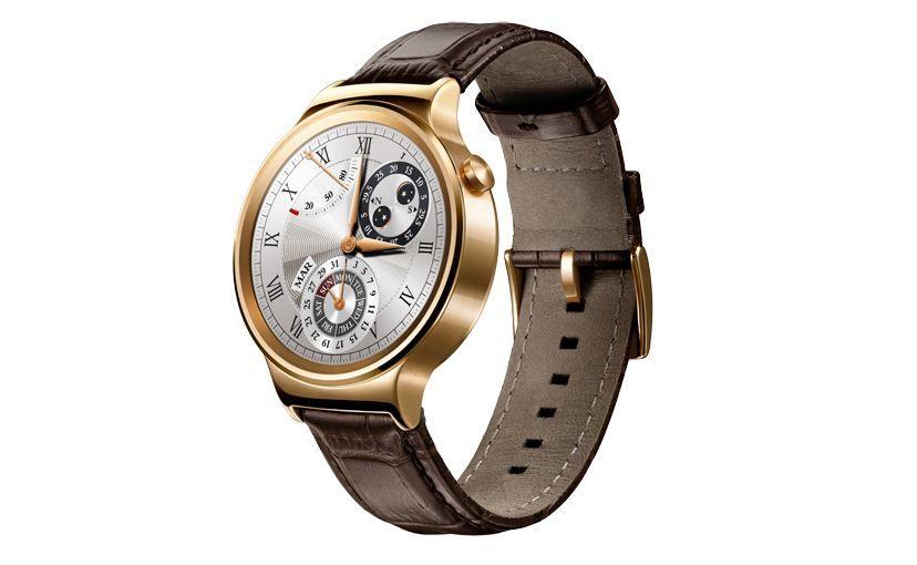 Huawei Watch dorado