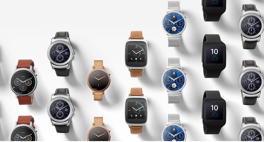 Huawei Watch y Moto 360 2ª Gen en Google Store