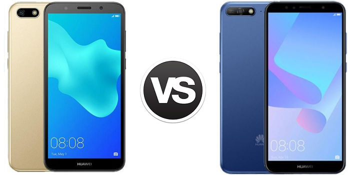 Huawei Y5 2018 vs Huawei Y6 2018 comparativa