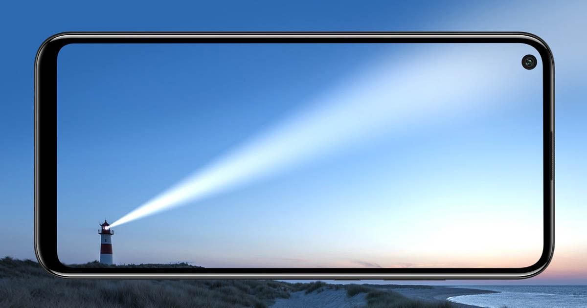 Huawei Y7p pantalla