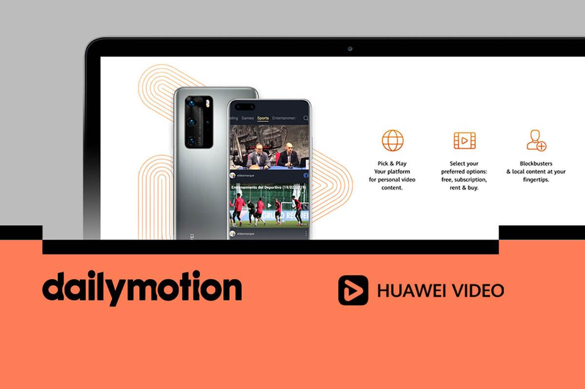 Huawei alianza Dailymotion