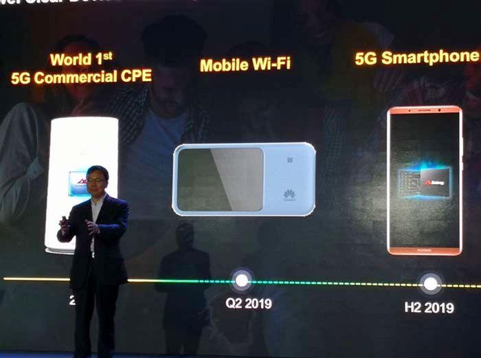 Huawei primer móvil 5G