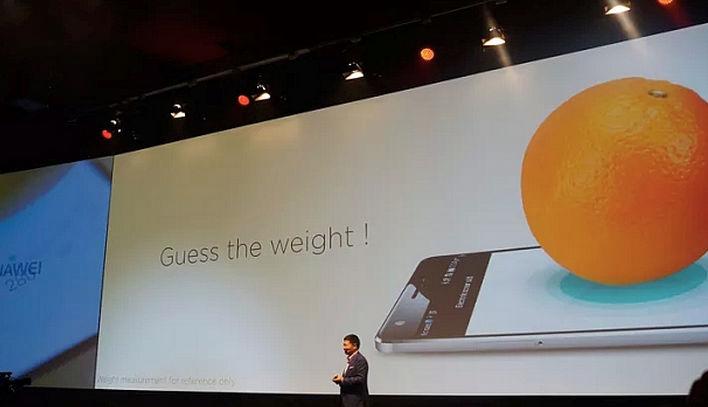 Huawei se burla de Apple con una naranja