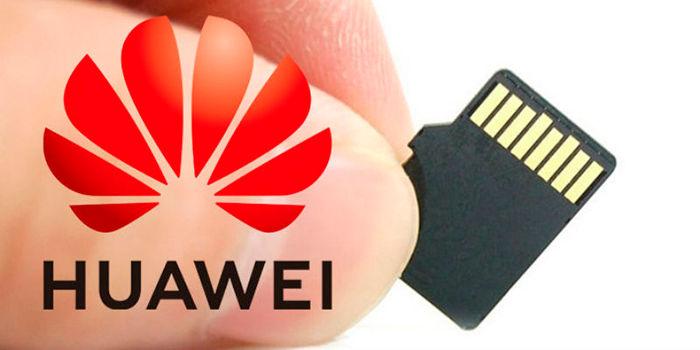 Huawei vuelve a poder usar tarjetas microSD