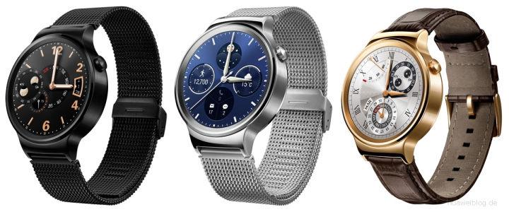 Lanzamiento del Huawei Watch el 2 de septiembre