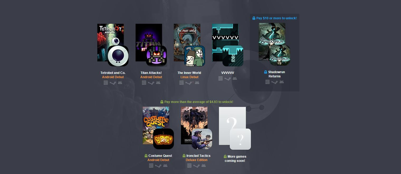 Humble Bundle 12 para Android