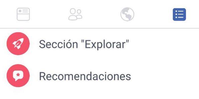 Iconos App Facebook