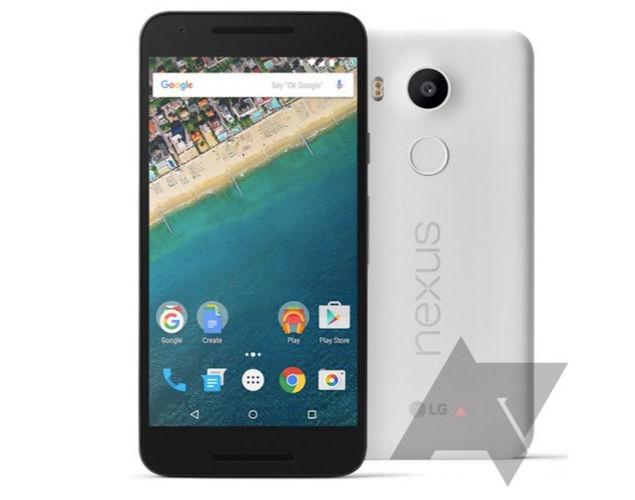 Imágenes oficiales del LG Nexus 5X