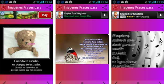 Imagenes Frases para Enamorar para Android