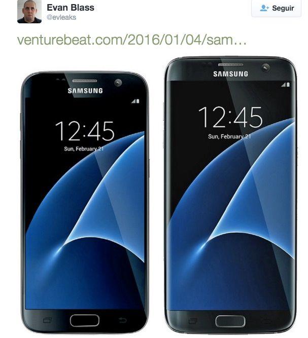 Imágenes reales Galaxy S7 y S7 Edge