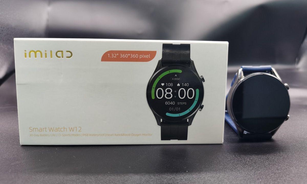Imilab Smart Watch W12 con caja