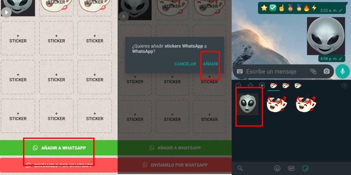 Importar stickers animado a WhatsApp