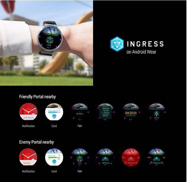 Ingress en Android Wear
