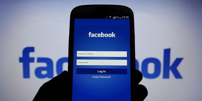 Inicio sesion Facebook