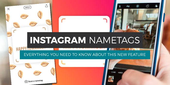 Instagram Nametag como usarlo