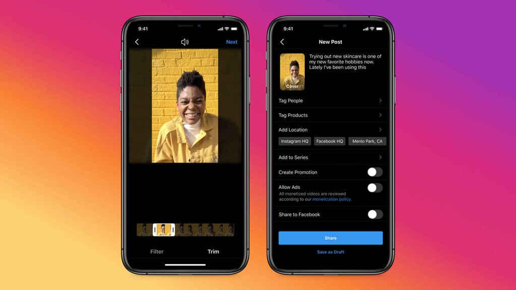 Instagram Video llega a instagram para reemplazar a Reels e IGTV