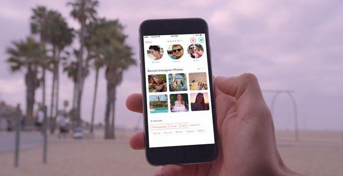 Instagram en Tinder