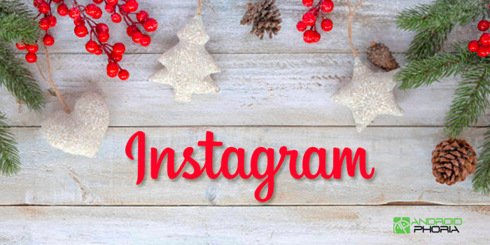 Instagram novedades Navidad 2017