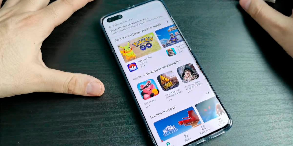Instalar Google Play Store Huawei P40