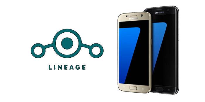 Instalar Lineage OS Galaxy S7 Edge