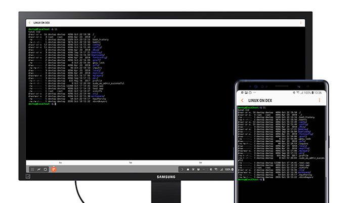 Instalar Linux en Samsung