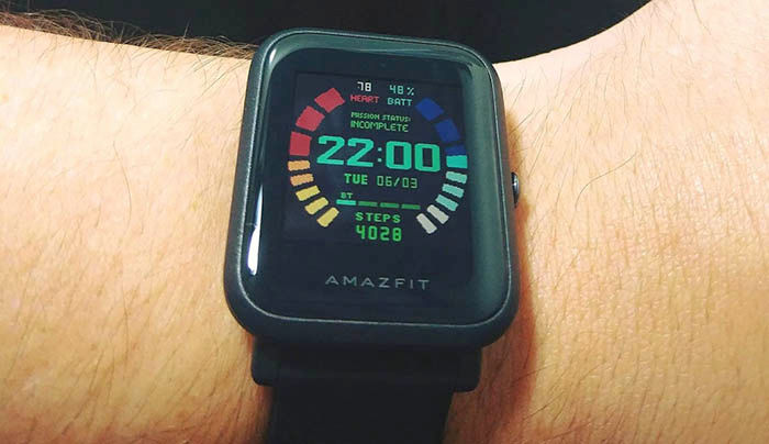 Instalar Watch face Amazfit Bip