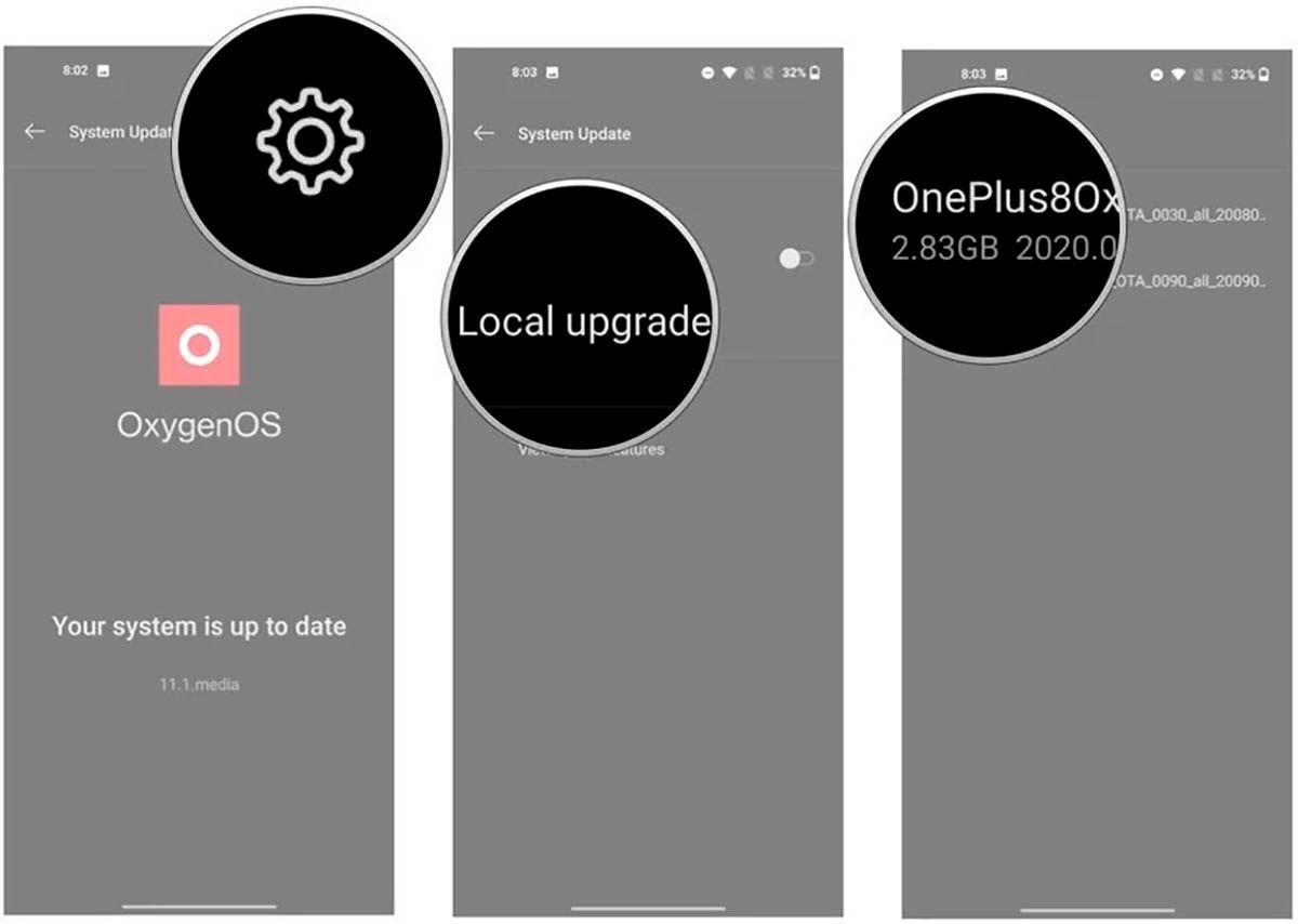 Instalar actualizacion Android 11 OnePlus