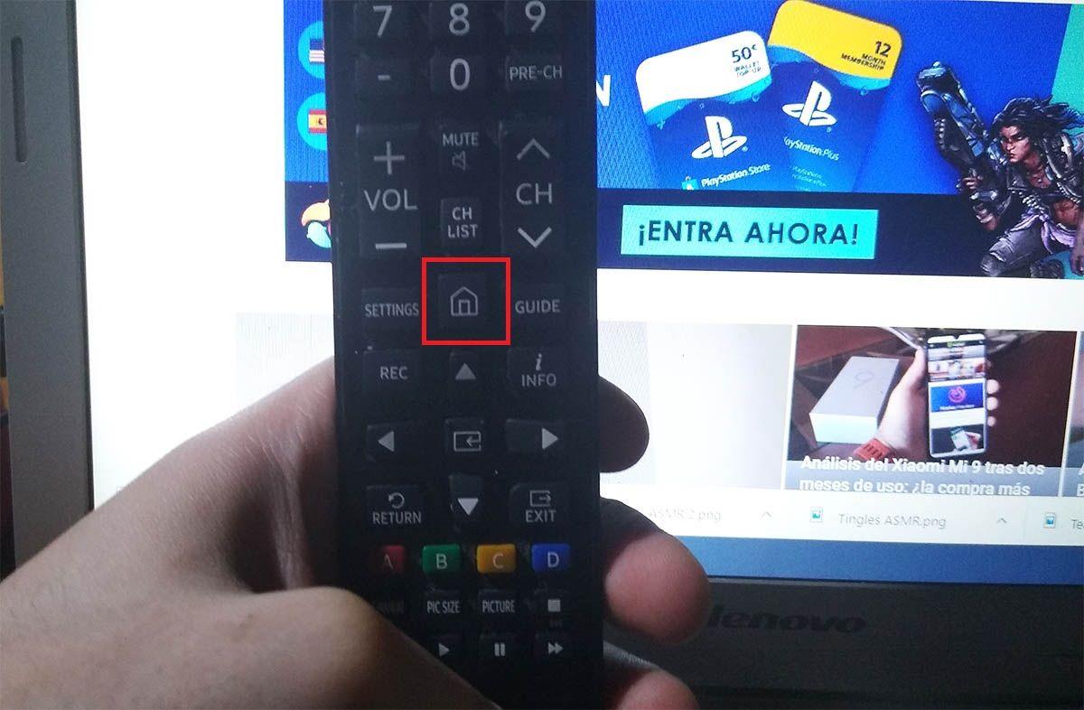 Instalar apps Samsung Smart TV