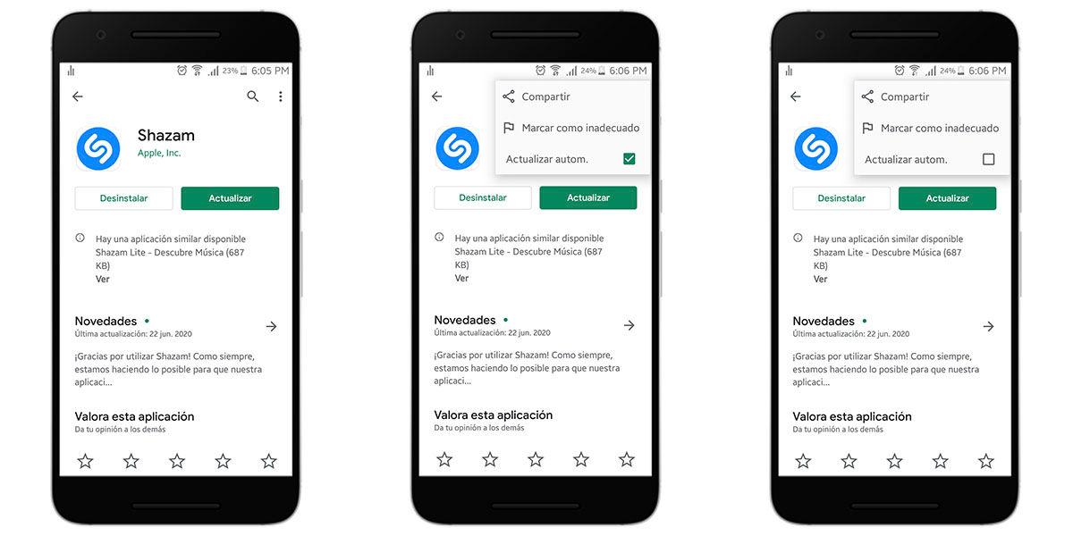Instalar en Android una versión anterior de una aplicación
