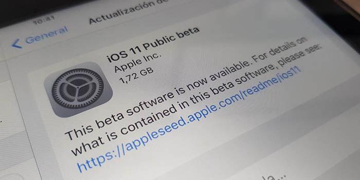 Instalar iOS 11 en iPad o iPhone
