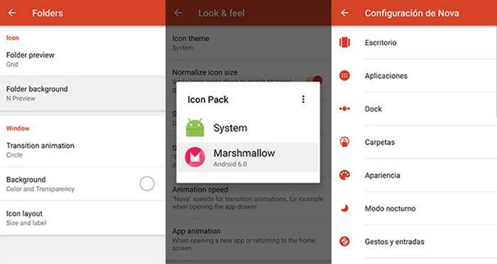 Instalar iconos Android N