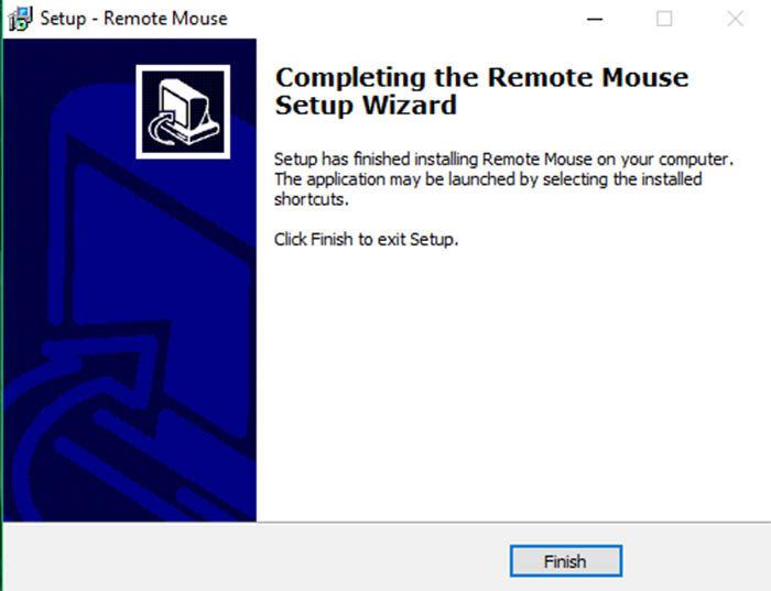 Instalar remote Mouse en la Pc