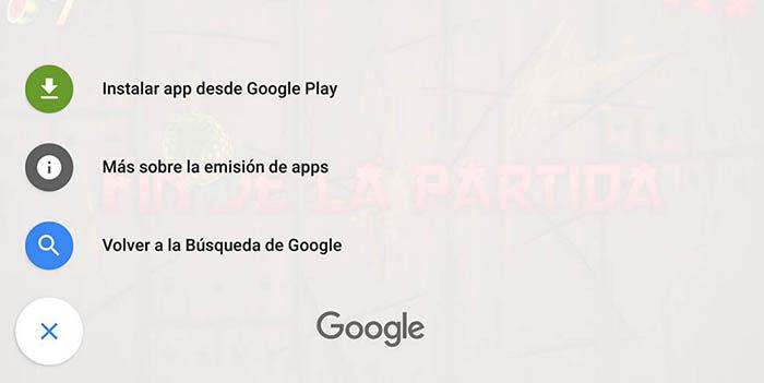 Instant Apps Android funcionando