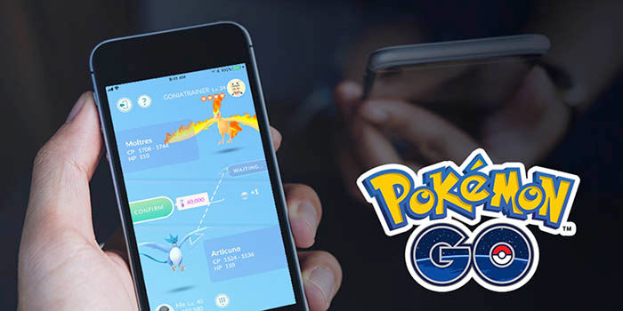 Intercambiar Pokemons en Pokemon Go