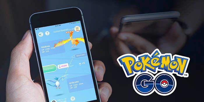 Intercambiar Pokemons en Pokemon Go