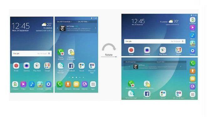 Interfaz Galaxy X d