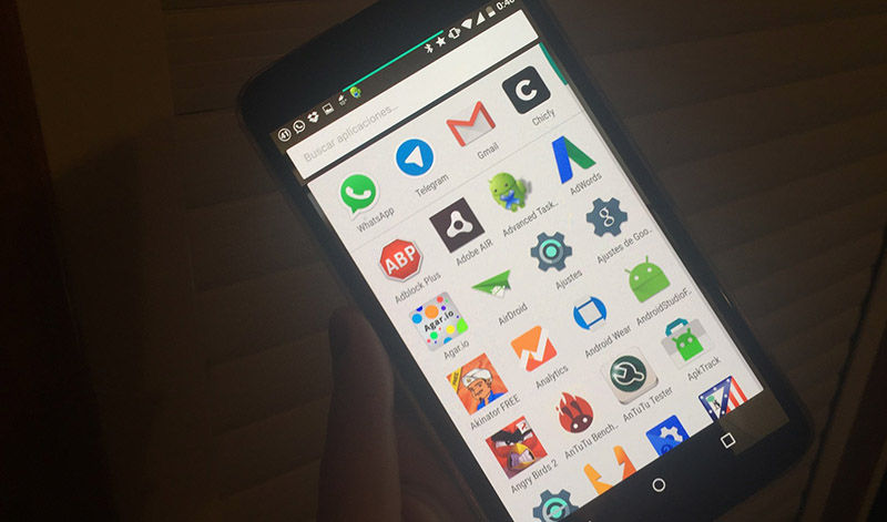 Interfaz Marshmallow en Nexus 6