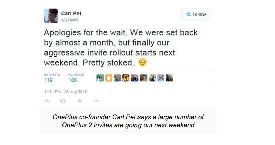 Invitaciones para OnePlus 2 el próximo fin de semana