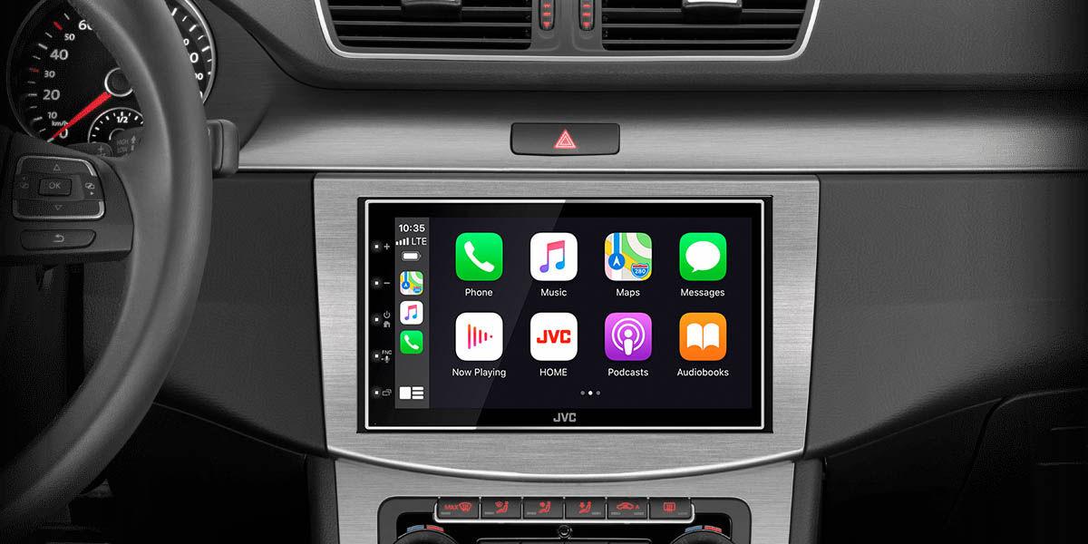JVC KW-M745DBT radio con android auto y apple carplay