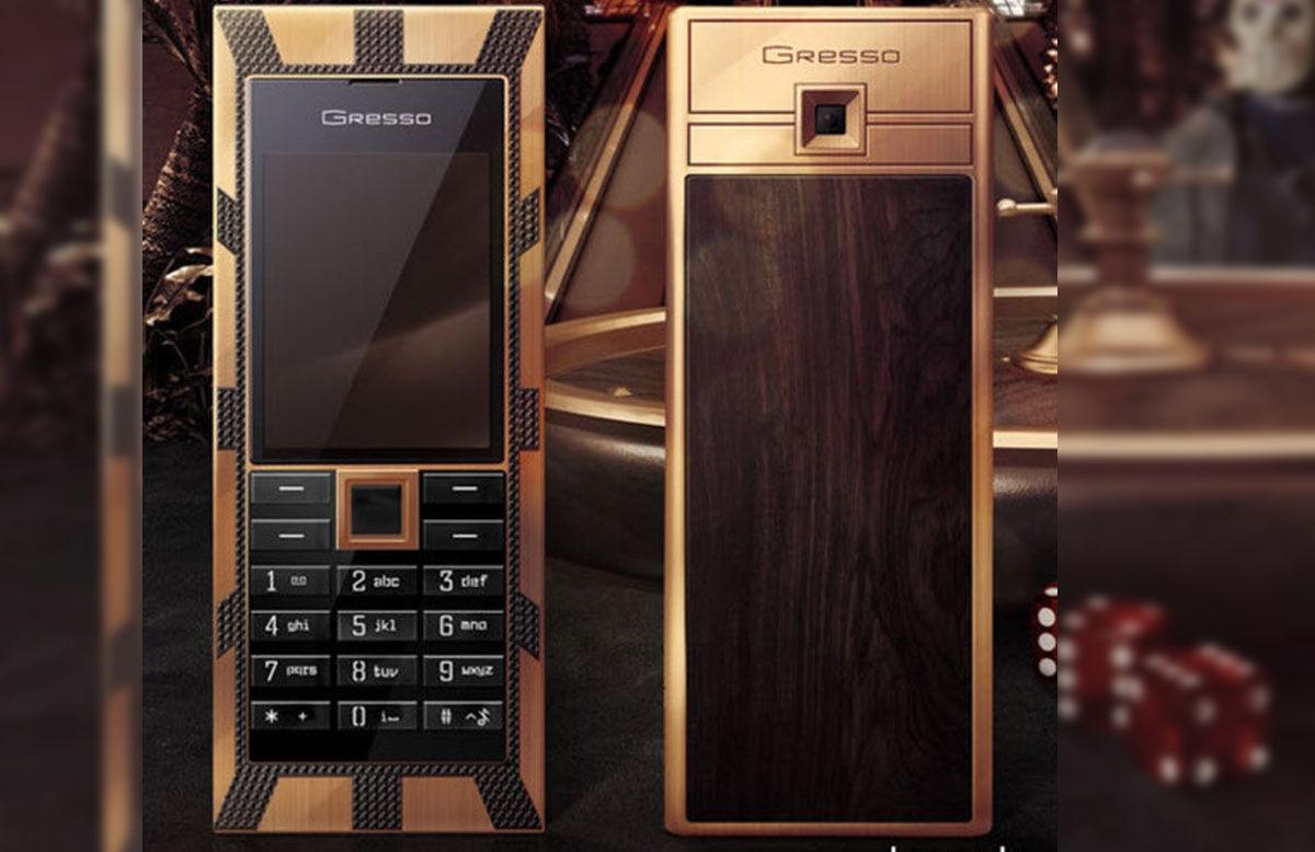 Jackpot Gresso Luxor Las Vegas, móvil fabricado con madera africana de 200 años