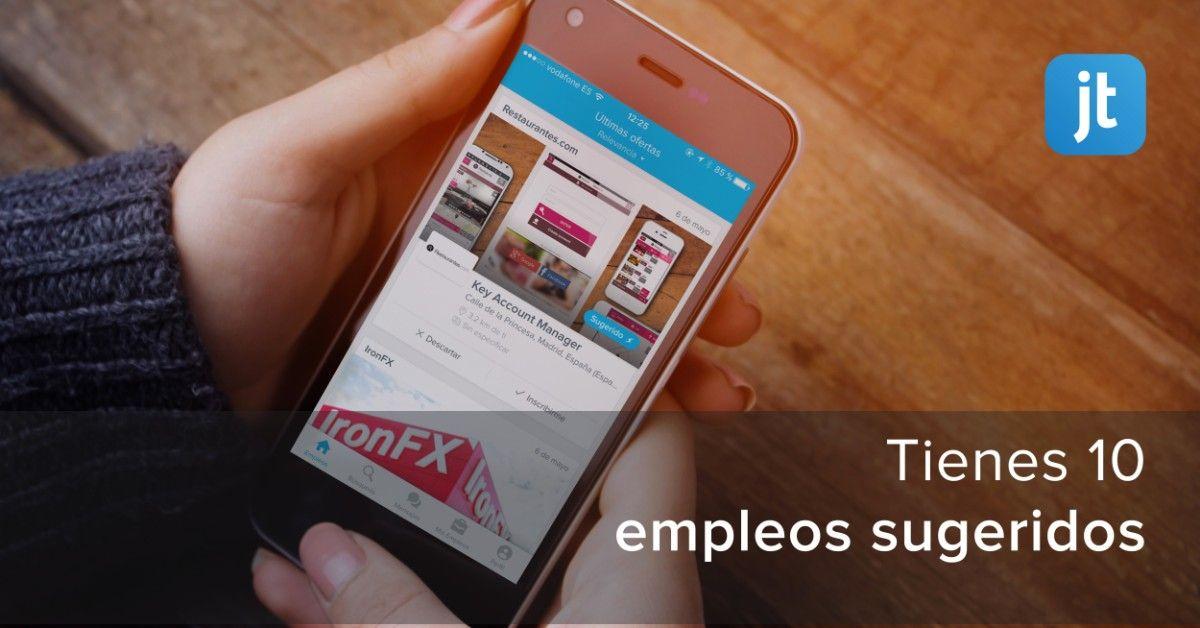 Jobandtalent aplicacion para trabajo en espana en 2020