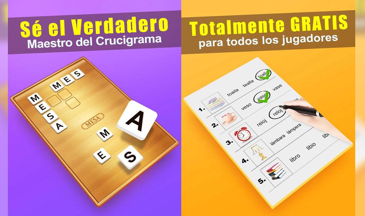 Juega a todo tipo de crucigramas y juegos de vocabulario y ortografía con estas apps