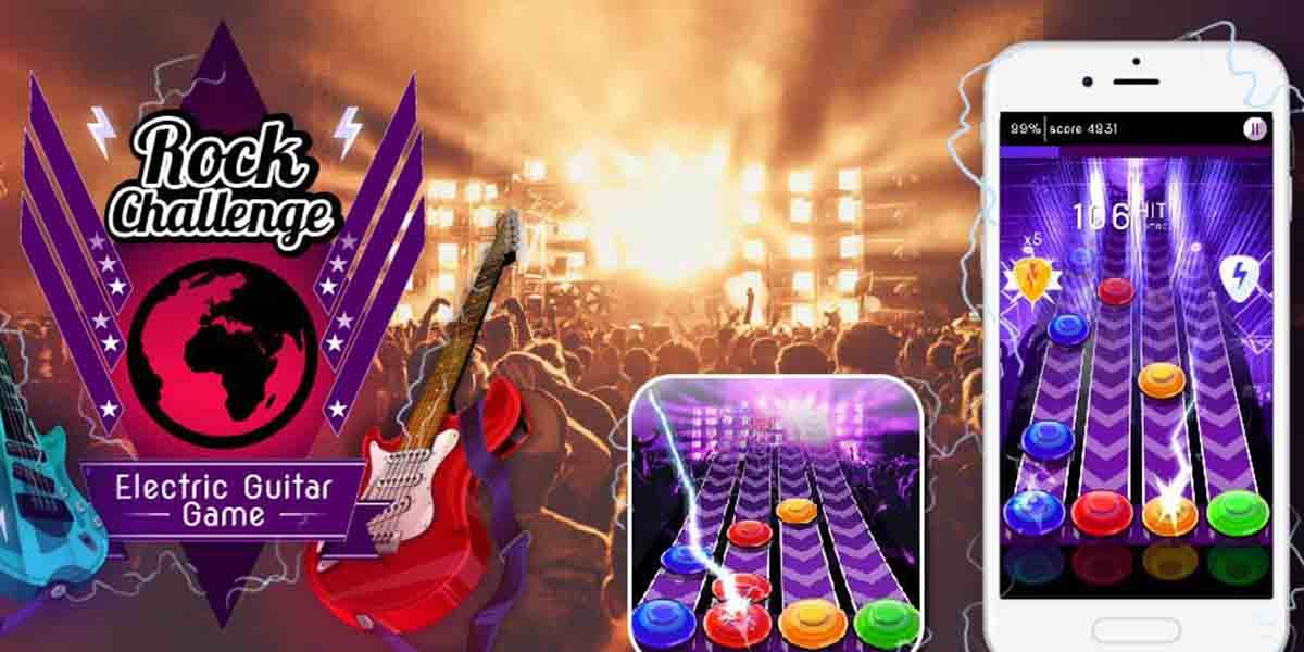 Juega y da conciertos por todo el mundo con Rock Challenge