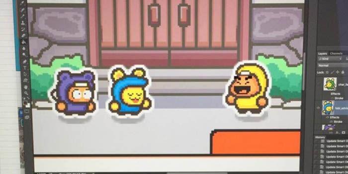 Juego de Ninjas Flappy Bird
