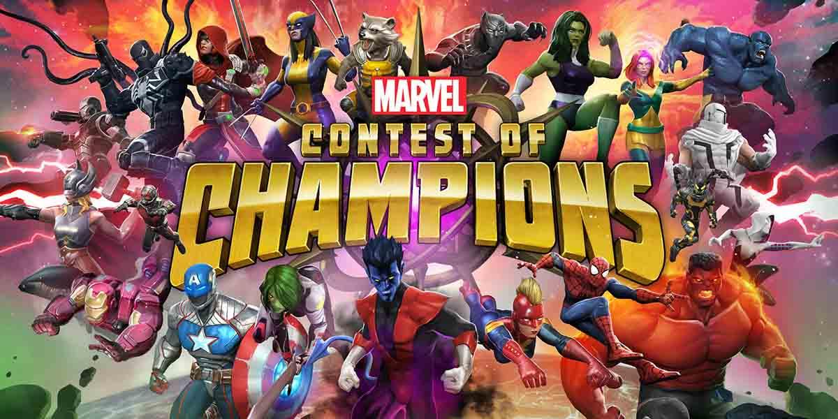 Juegos basados en películas. Marvel Contest of Champions