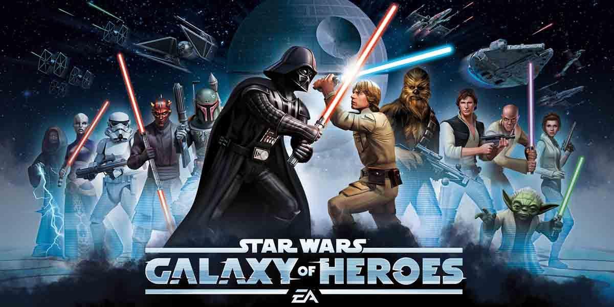 Juegos basados en películas. Star Wars: Galaxy Of Heroes