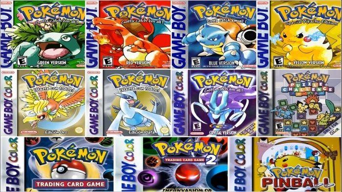 Juegos de Pokémon GBC